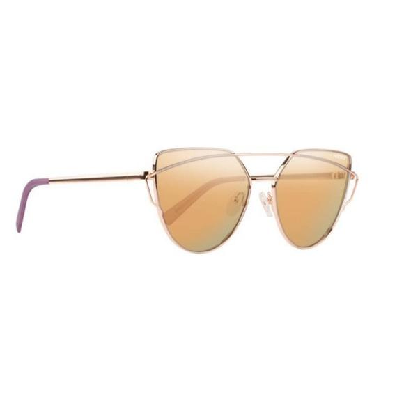 dc3fc62261 Nectar Mosa Polarized Cat Eye Sunglasses Rose Gold
